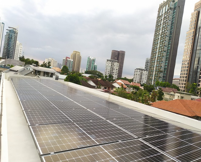 Tile-Roof-Solar Panels Installation- Jalan Kelempong Singapore - 40panels